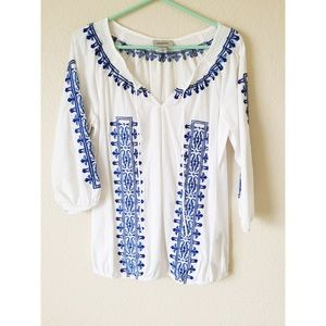 Dress Barn bohemian top